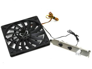 Крепление Scythe Kama Stay SCKST 1000 в PCI для вентиляторов и HDD