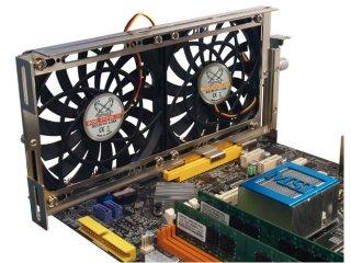 Пример использования: два вентилятора 120мм
