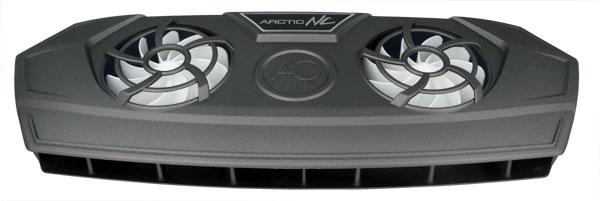 Кулер для ноутбука ARCTIC NC черный портативный