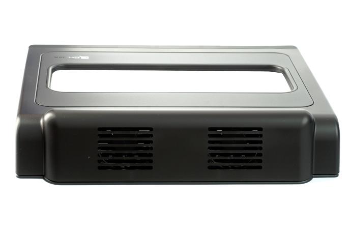 Кулер для ноутбука Choiix AIR THROUGH C HL01 KS черный с USB хабом