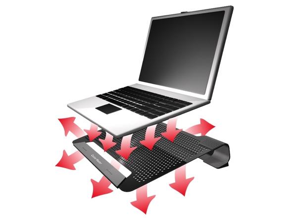 Кулер для ноутбука CoolerMaster NotePal U1 Active R9 NBC 8PAK GP черный с вент
