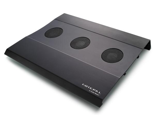 Кулер для ноутбука CoolerMaster NotePal W2 R9 NBC AWCK GP черный  3 вентил