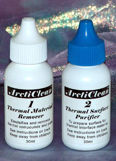 ArctiClean  средство для очистки термопасты и подготовки поверхн   2 фл  по 30мл