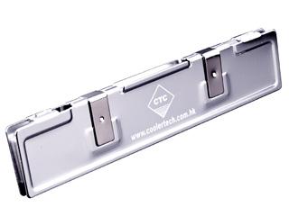 Кулер оперативной памяти алюмин  серебрист  CoolerTech CT RAM SL