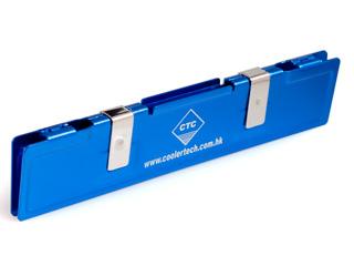 Радиатор для охлаждения памяти оперативной алюмин  синий CoolerTech