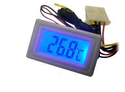 Моддерский термометр Kama Thermo TM02 WH белый с синей подсветкой