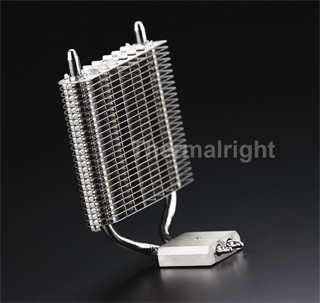 Кулер для чипсета с теплотрубками  Thermalright HR 05 SLI