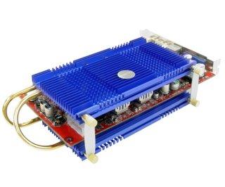 Кулер пассивный для VGA Zalman ZM80D HP синий