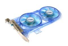 Устройство доп  охлаждения  VGA PCI PCI X AGP PCIE  VIZO PROPELLER Dual Fan Card