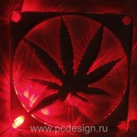 Светодиод 3 мм   красный   для установки в  специальную  решетку вентилятора