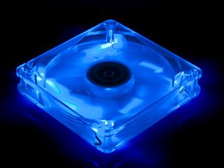 Вентилятор с подсветкой синей 135мм Scythe Kamakaze Blue LED 800rpm