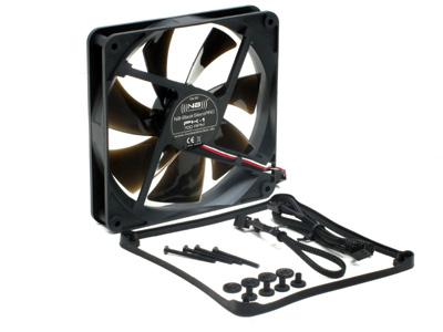 Бесшумный вентилятор 140мм NB BlackSilentPRO PK1 700rpm 9 dBA черный