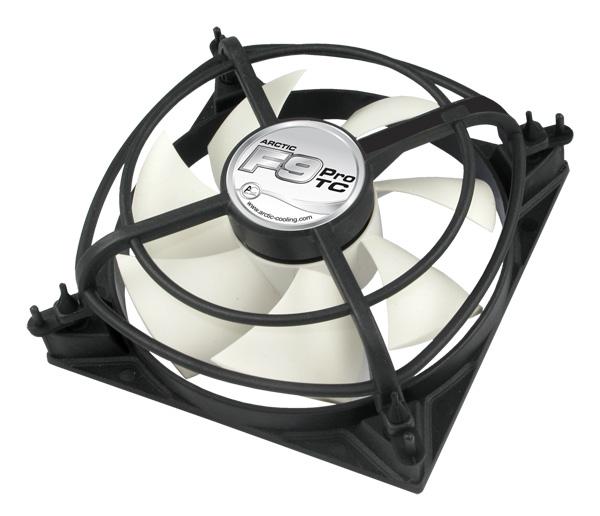Вентилятор для корпуса 92мм ARCTIC F9 Pro TC с температурным датчиком