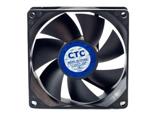 Вентилятор черный 80мм CoolerTech CT SYS 8025