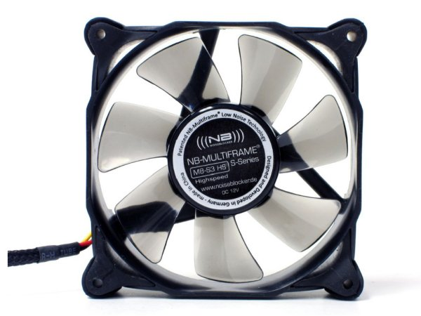 Тихий вентилятор Noiseblocker NB Multiframe M8 S3HS  L  M8S3HS  80мм 2200RPM 19d