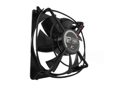 Вентилятор для корпуса Arctic Fan 12PWM 120 мм черный с решеткой