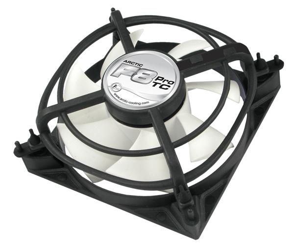Вентилятор для корпуса 80мм ARCTIC F8 Pro TC с температурным датчиком