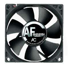 Вентилятор для корпуса 92мм ARCTIC Fan AF9225L черный