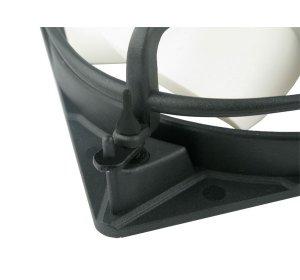 Вентилятор для корпуса ARCTIC F12 Pro PWM 120 мм  белые лопасти  решетка