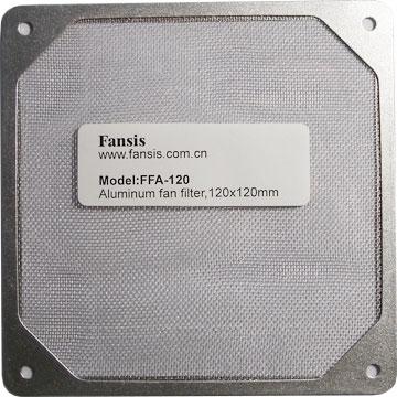 Фильтр FFA 120 для 120 мм вентилятора  алюминиевый
