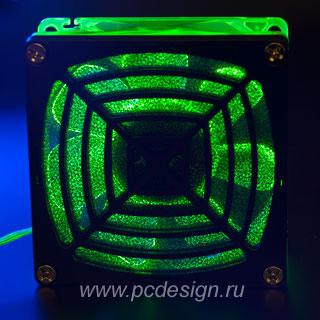 Фильтр для вентилятора 80мм PB 08D пластиковый с поролоном