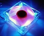 Вентилятор COLORCHANGER 80 мм  хамелеон    меняет цвет от температуры
