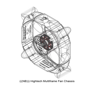 Вентилятор Noiseblocker NB Multiframe M12 S2 120ммUltra Silent  1250 RPM  19 dBA