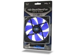 Бесшумный вентилятор 120 мм Noiseblocker BlackSilentFan XL1 13 dBA