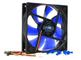 Вентилятор Noiseblocker XL2  Rev 3  120мм Ultra тихий  с антивибр  винтиками