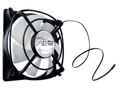 Вентилятор для корпуса 120мм ARCTIC F12 Pro TC с температурным датчиком