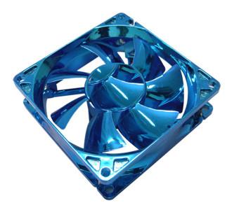 Вентилятор 120 мм с анодированным синим покрытием