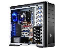 Вентилятор 120мм Cooler Master черный с синей подсветкой