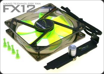 Вентилятор Nanoxia FX12 1250 120мм  с антивибр винтик и 1кан реобасом