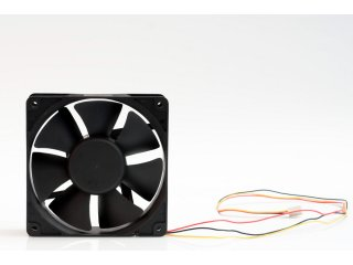 Вентилятор 120 мм Nanoxia AX12 M1250 Airflow OEM черный без упаковки