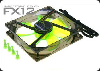 Вентилятор Nanoxia FX плюс 12 2000 PWM 120мм  с антивибр  винтик  и PWM регулят