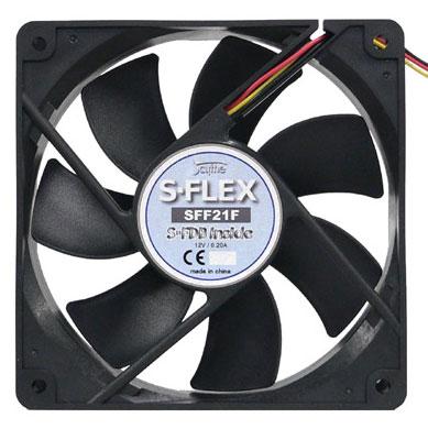 Вентилятор 120мм для корпуса черный Scythe S FLEX SFF21F 1600 rpm S FDB