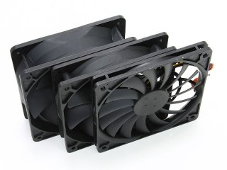 Вентилятор для корпуса тонкий Slip Stream 120 мм Slim 2000 rpm SY1212SL12H