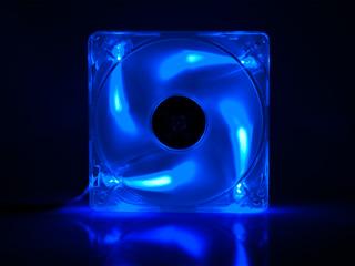 Вентилятор с подсветкой синей и ШИМ Kama PWM Blue LED 120