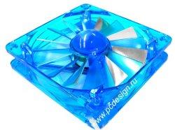Вентилятор 120мм AeroCool Turbine 3000 Blue
