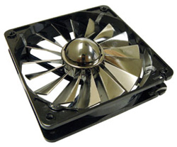 Вентилятор 120мм AeroCool Turbine 2000 Silver   черное основание