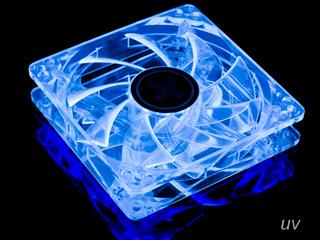 Вентилятор с подсветкой белой 120 мм XILENCE COO XPF120 WW флуор