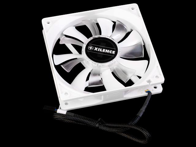 Вентилятор для корпуса 120 мм  Xilence XQ DualWing COO XPF120 PWM XQ белый  ШИМ
