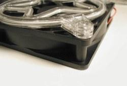 Неоновая решетка  Звезда  для  120 мм вентилятора  фиолетовая