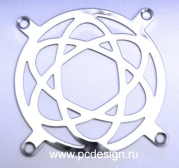 Атом   стальная решетка для 120 мм вентилятора