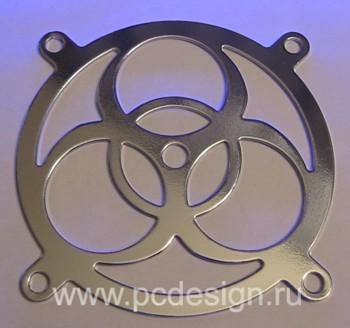 Биохазард   стальная решетка для 120 мм вентилятора