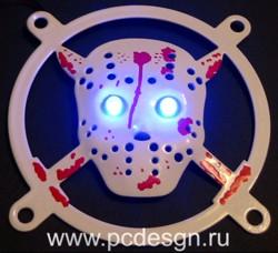 3d  Пятница 13 ое     стальная объемная решетка со встроенными  светодиодами