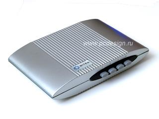 Переключатель разветвитель HB7007 HDMI 4in 1out ручной  серебр