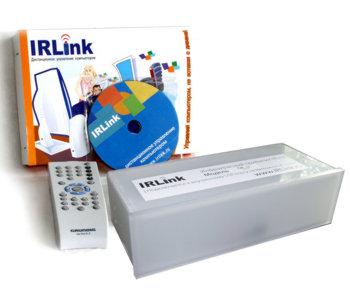Комплект дистанц  управл  компьютером Irlink  серый в отсек 5    пульт Grundig