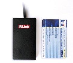 Комплект дистанц  управления компьютером Irlink USB VS внешний черный с пультом