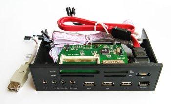Компл  дистанц  управ  Irlink turbo отсек 5 25    с пультом  черный  с кардридер